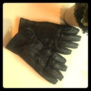 L L Bean Leather Gloves